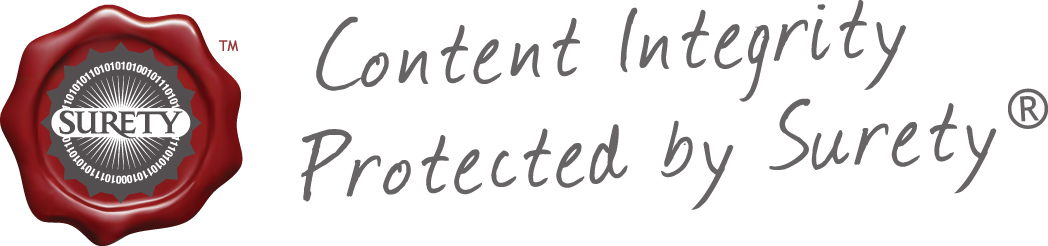 Content Integrity, Protected by Surety
